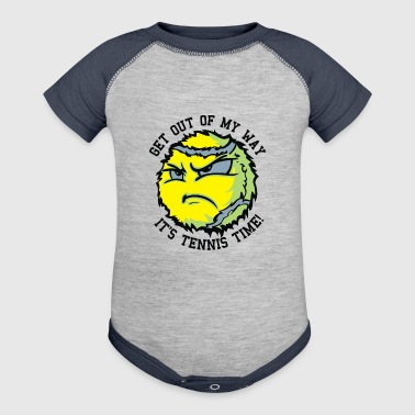 TENNIS BALLS - Baby Contrast One Piece