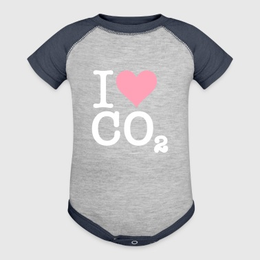 I Love CO2 - Baby Contrast One Piece