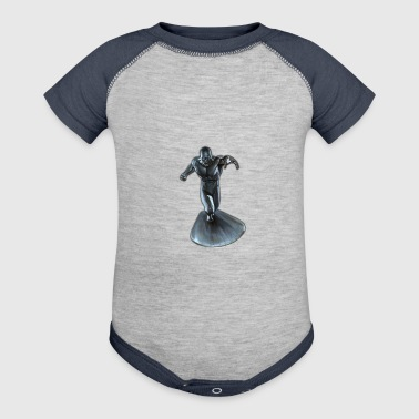 silver man - Baby Contrast One Piece