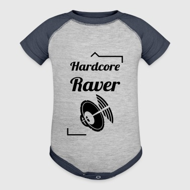 Hardcore Raver - Baby Contrast One Piece