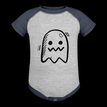 a ghost - Baby Contrast One Piece