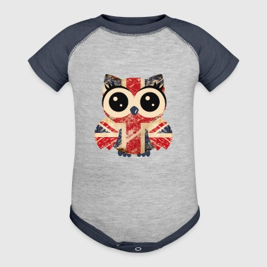 Owl UK - Baby Contrast One Piece