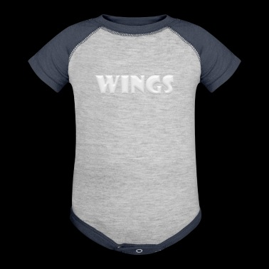 Wings - Baby Contrast One Piece