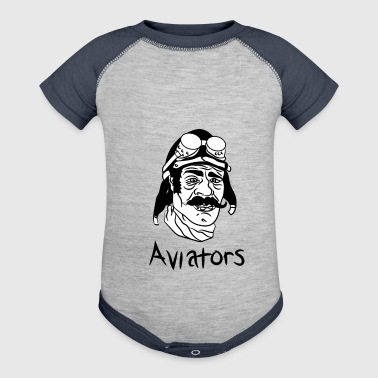 aviator - Baby Contrast One Piece