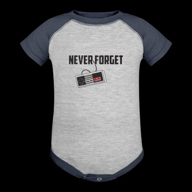 Never Forget - Baby Contrast One Piece