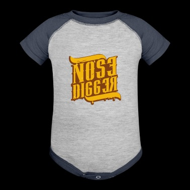 Nose Digger - Baby Contrast One Piece