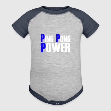 Ping Pong Power - Baby Contrast One Piece