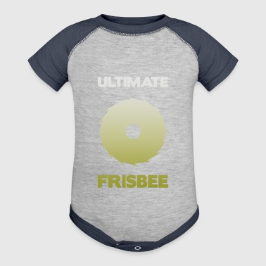 Ultimate-Frisbee - Baby Contrast One Piece
