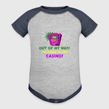 out of my way casino - Baby Contrast One Piece