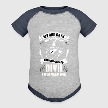 Civil engineering - Baby Contrast One Piece