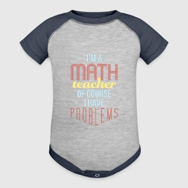 Math Teacher - Baby Contrast One Piece