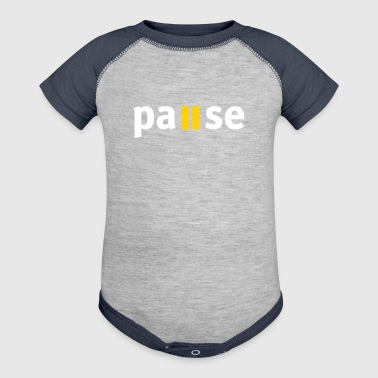 Pause - Baby Contrast One Piece