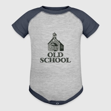 Old School - Baby Contrast One Piece