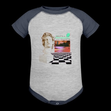chess - Baby Contrast One Piece