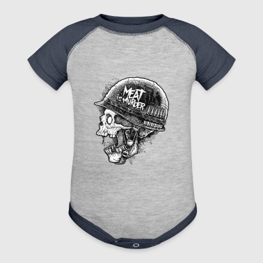 Meat is Murder - Baby Contrast One Piece