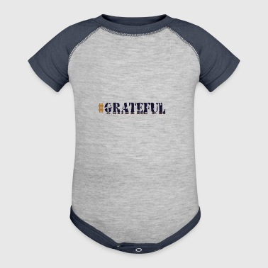 #Grateful - Baby Contrast One Piece