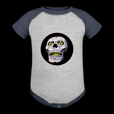 nuclear skull - Baby Contrast One Piece