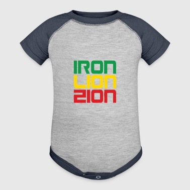 Iron Lion Zion - Baby Contrast One Piece