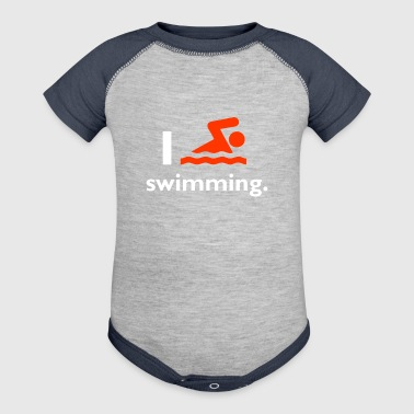Swimming - Baby Contrast One Piece
