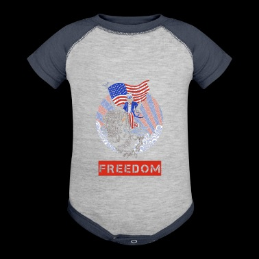 freedom - Baby Contrast One Piece