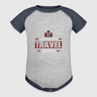 travel - Baby Contrast One Piece
