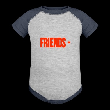 Friends - - Baby Contrast One Piece