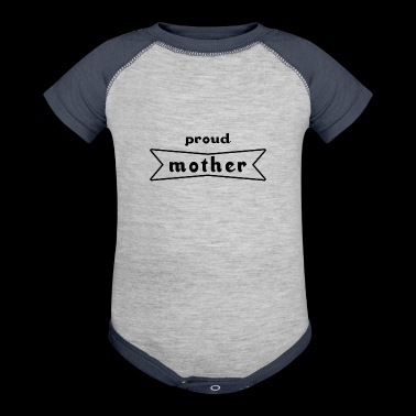 Mother Family Child Offspring Pregnancy Mama - Baby Contrast One Piece