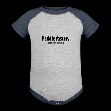 Paddle Faster - Baby Contrast One Piece