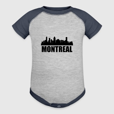 Montreal Skyline - Baby Contrast One Piece