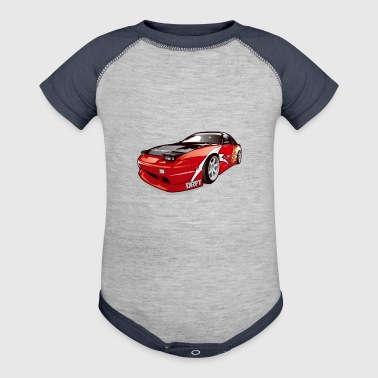 cars drift - Baby Contrast One Piece