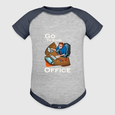 Office - Baby Contrast One Piece