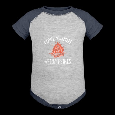 CAMPFIRE SMELL - Baby Contrast One Piece