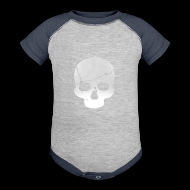 Cracked Skull - Baby Contrast One Piece