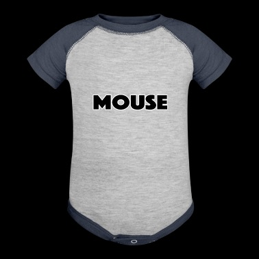 mouse - Baby Contrast One Piece