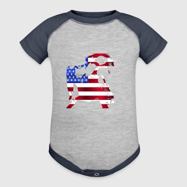 America - Baby Contrast One Piece