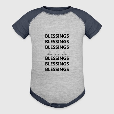 Blessings on Blessings - Baby Contrast One Piece