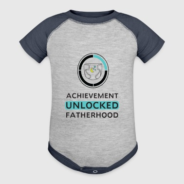 Achievement Unlocked Fatherhood - Baby Contrast One Piece