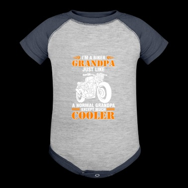 Cool Shirt For Motocycle Lover - Baby Contrast One Piece