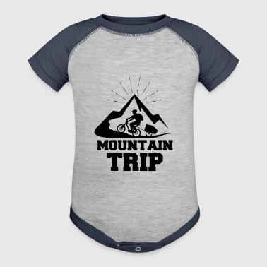 Mountain trip - Baby Contrast One Piece