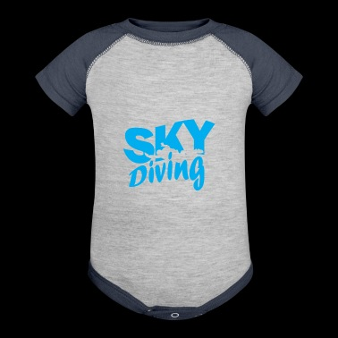 Skydiving skydiver - Baby Contrast One Piece