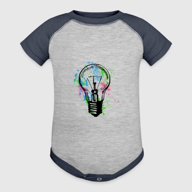 Light Bulb - Baby Contrast One Piece