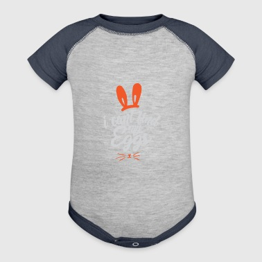 Easter easter bunny gift - Baby Contrast One Piece