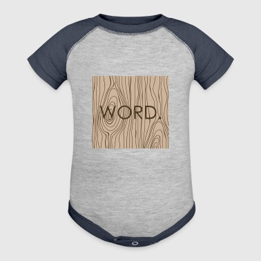 Word - Baby Contrast One Piece