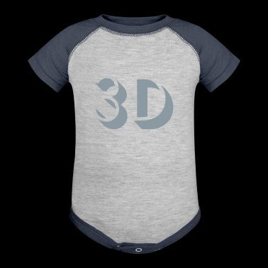 3D - Baby Contrast One Piece