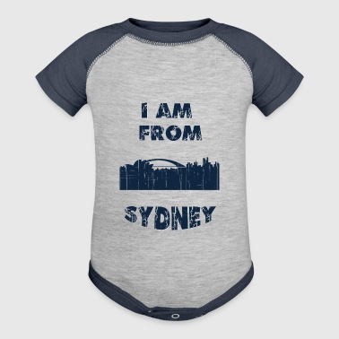 SYDNEY I am from - Baby Contrast One Piece