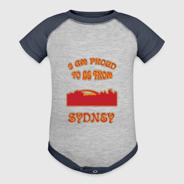 SYDNEY I am proud to be from - Baby Contrast One Piece