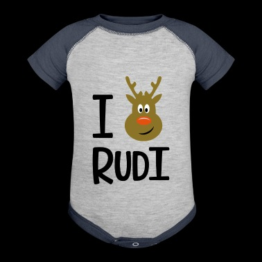 Rudolph - Baby Contrast One Piece