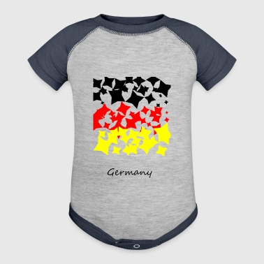 Germany flag - Baby Contrast One Piece