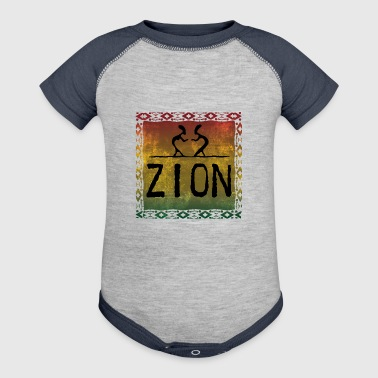 zion dance - Baby Contrast One Piece