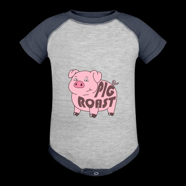Pig Roast - Baby Contrast One Piece